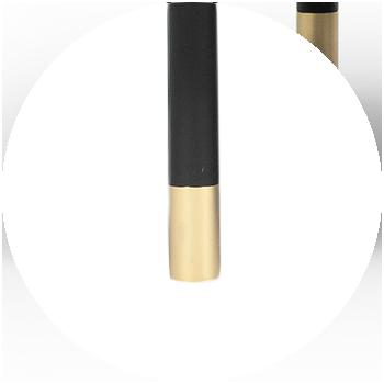 Brass Tip - Black